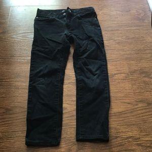Boys Children's Place black skinny jean size 7